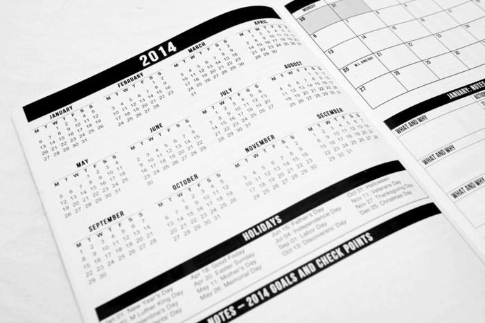Kickstarter Calendar Planner : Passion planner start focusing on what really matters by