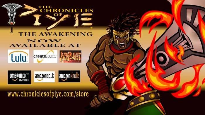 Where to Buy Chronices of Piye Comics & Graphic Novel Online