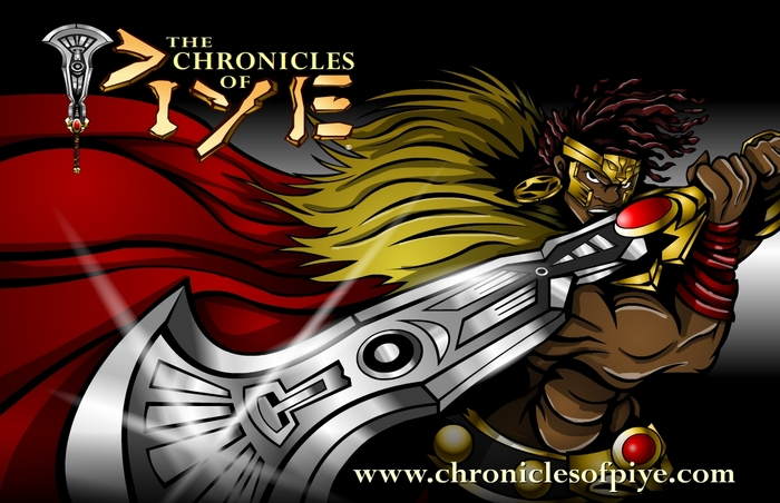 The Chronicles of Piye Comic Series & Graphic Novel