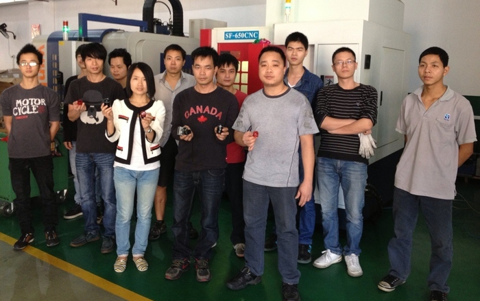 Our Magnic Light team at FengFan Technology (HK), which produces injection mold tools and pieces of highest quality and supports with specialist knowledge. Online discussions with our competent manager Atina Wang would fill a book with 235 pages so far..