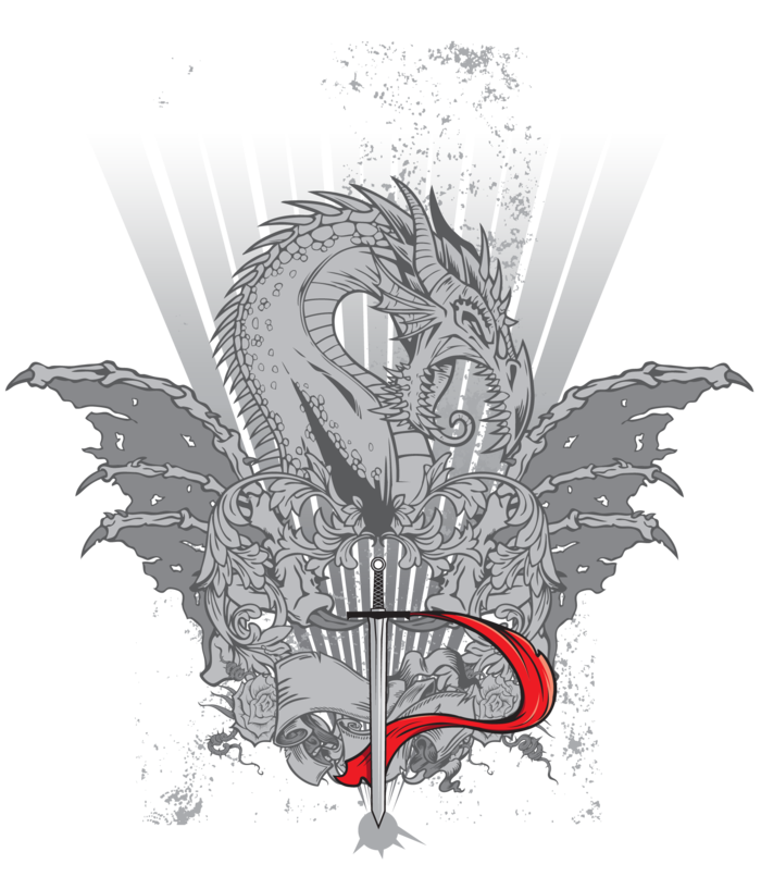 The official Durandal t-shirt design (front).