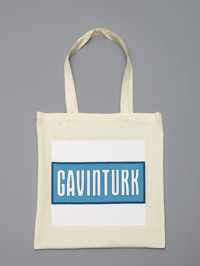 Gavin Turk Tote Bag for a £10 donation