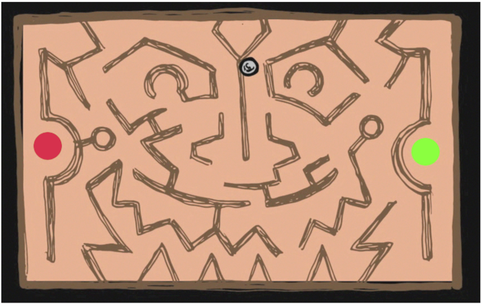 A Roll Maze level