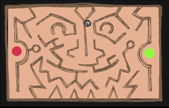 A Roll Maze level