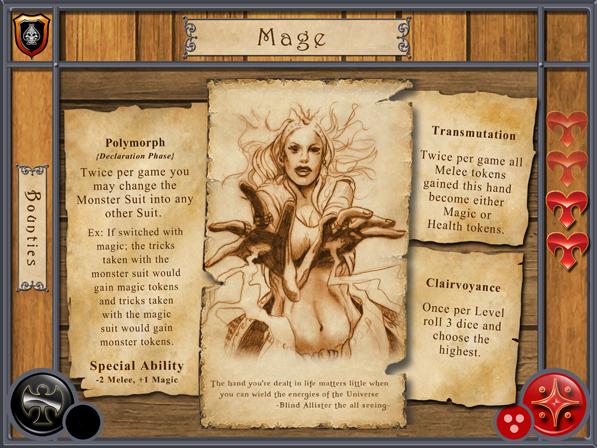 Mage Character