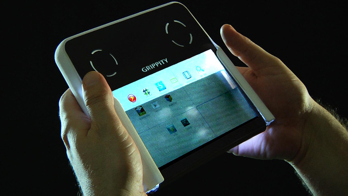 Grippity-a-transparent-android-tablet