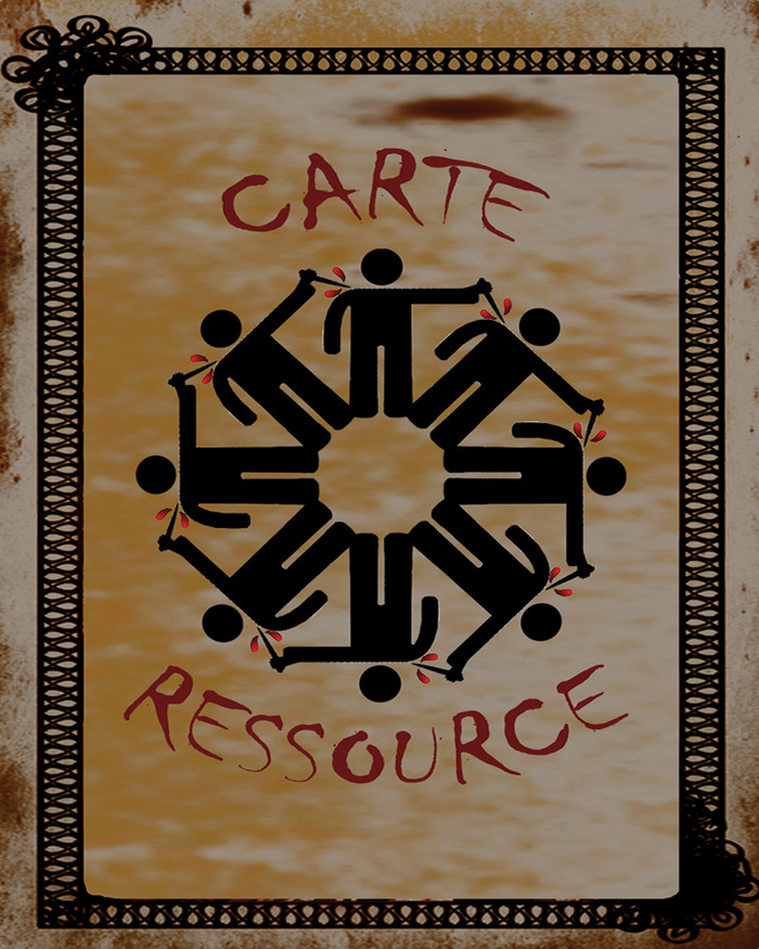 """The resource cards. You get one per turn, two if your are playing """"the Bourgeois""""  That will give more special actions, possibilities and opportunities cards to score victory points."""
