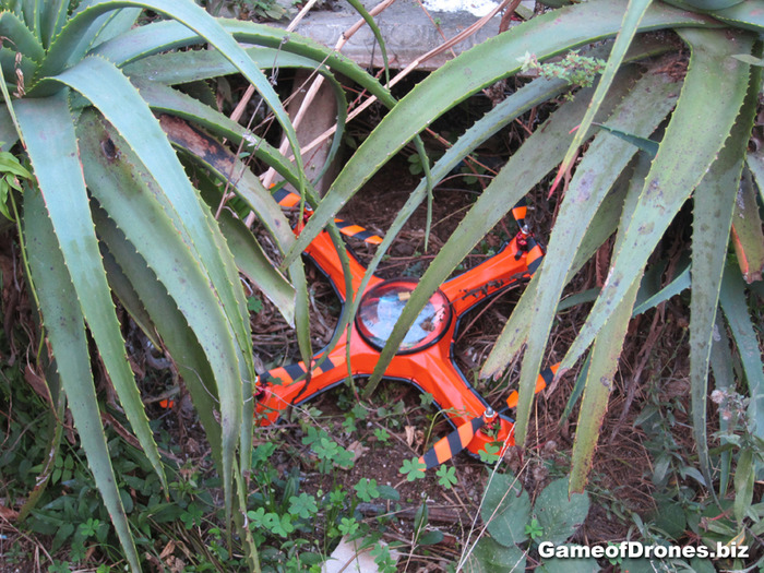 Never lose a drone in tall grass again!