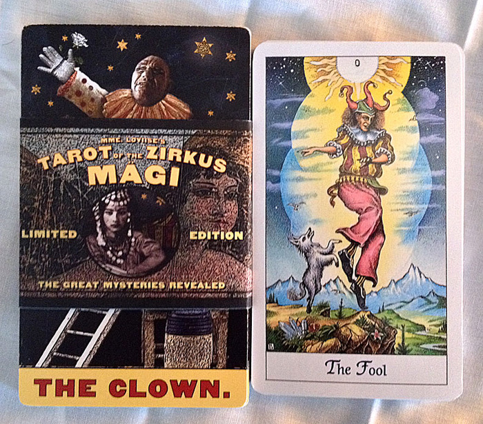 ... with the Cosmic Tarot.