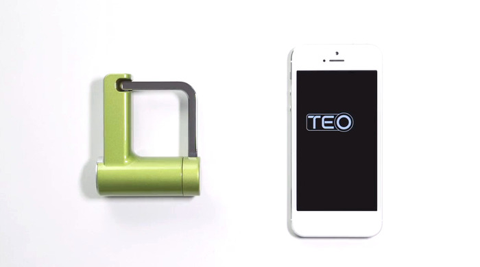 With TEO, your smartphone is now your keys.