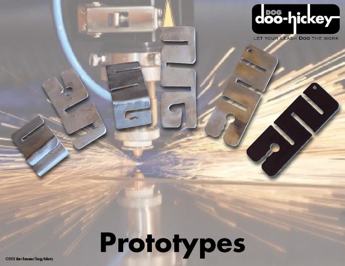Dog Doo-Hickey Prototypes