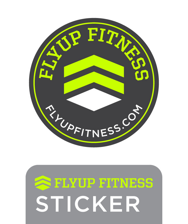 FLYUP Sticker