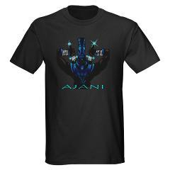 Chronicles of Piye T-Shirt - Ajani. One of the rewards for making a pledge to our campaign.
