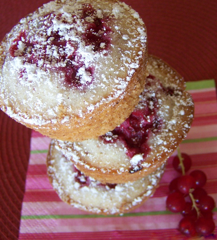 Gluten-Free Red Currant Muffins