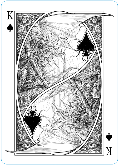 King of Spades - Cthulhu Ascendant.