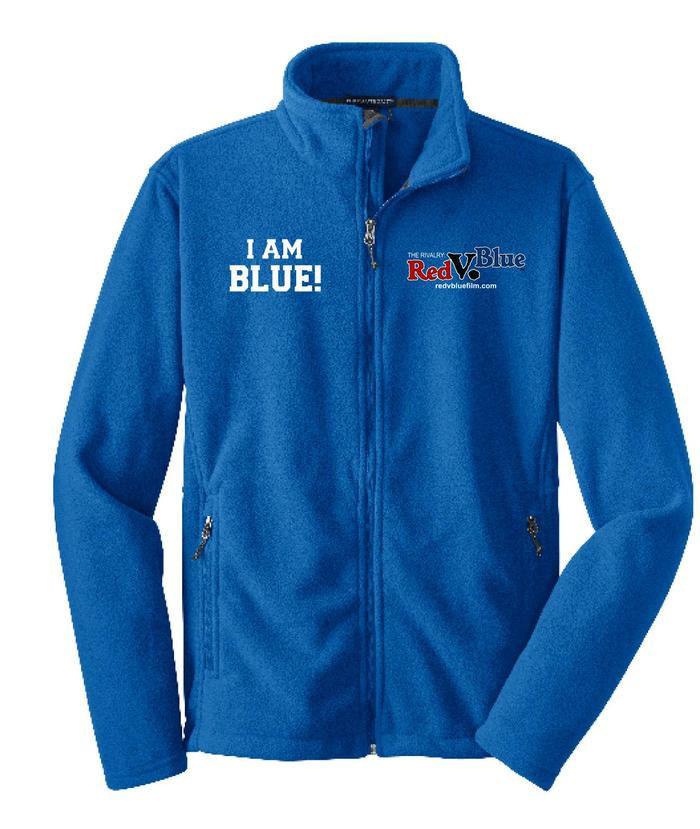 "Official ""I AM BLUE"" Film Fleece"