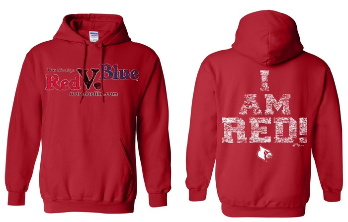 "Official ""I AM RED"" Film Hoodie"