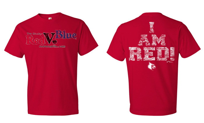 "Official ""I AM RED"" Film T-Shirt"