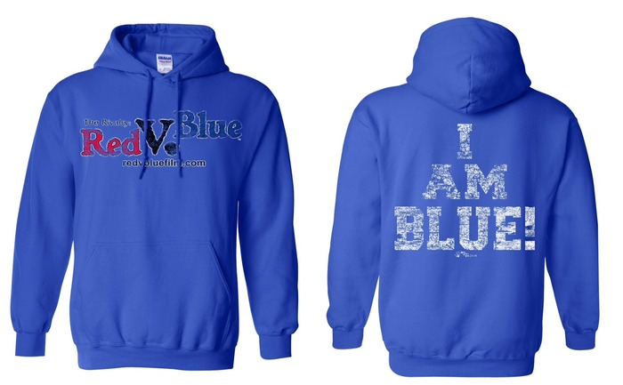 "Official ""I AM BLUE"" Film Hoodie"