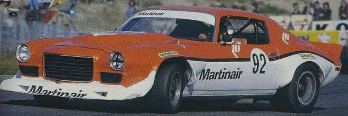 The Martinair Camaro driven by Rob Slotemaker