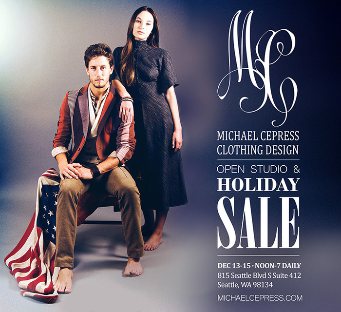 Holiday Sale at MC Dec 13, 14, 15, 2013.  12:00 - 7:00pm daily