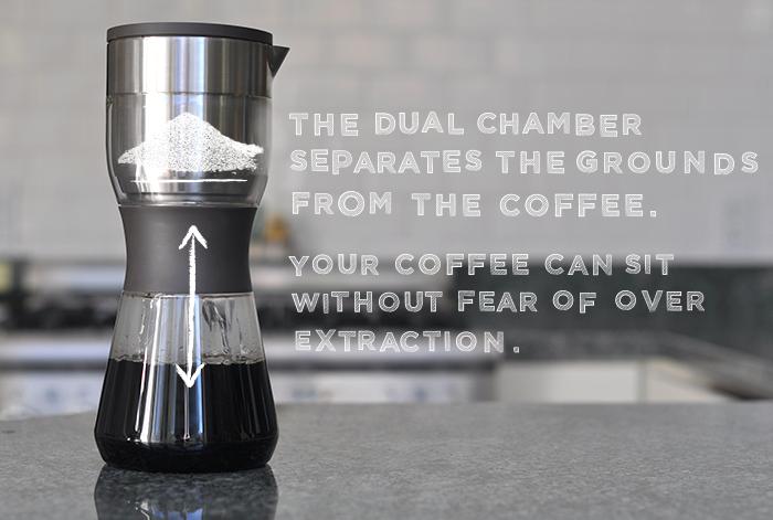 Duo Coffee Steeper by Enormous Industries Kickstarter
