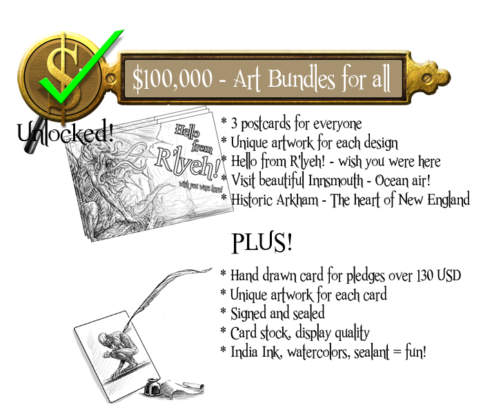 100k - Art Bundle for everyone - Unlocked!