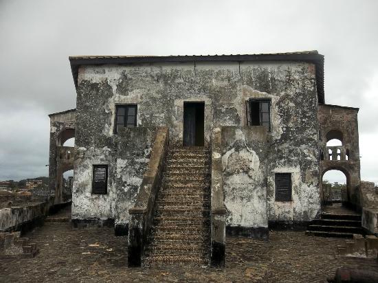 Fort Santo Antonio in a rough shape.