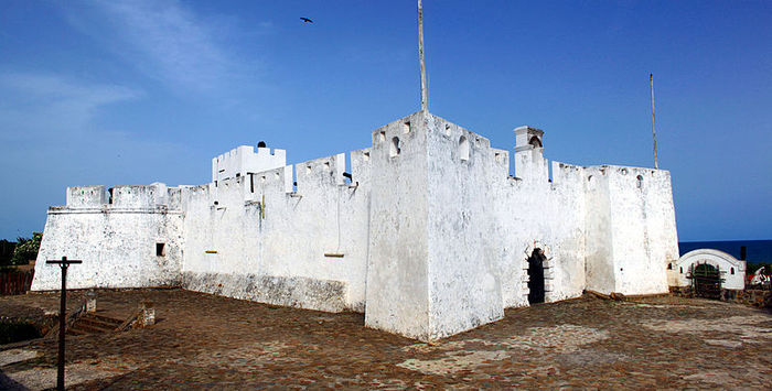 Fort Metal Cross is a fort in Dixcove, Ghana. It was built by the British as a trading post in 1683.