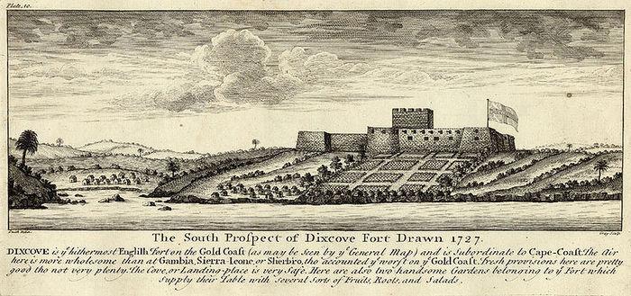 Fort Metal Cross in 1727