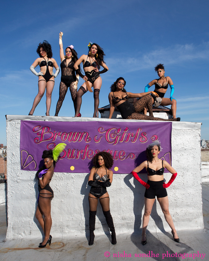 Brown Girls Burlesque by Nisha Sondha