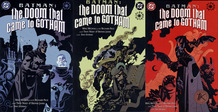 Batman: The Doom That Came to Gotham set