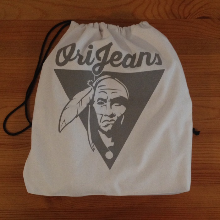 The bag with your OriJeans