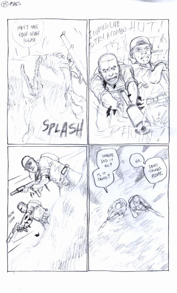 Ashes Page 25, Carla's Pencils