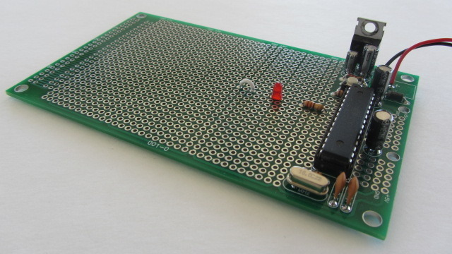 "3"" x 5"" Prototyping Board (Arduino-Compatible)"