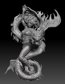 Sculpt by Hector (Hec) Moran.
