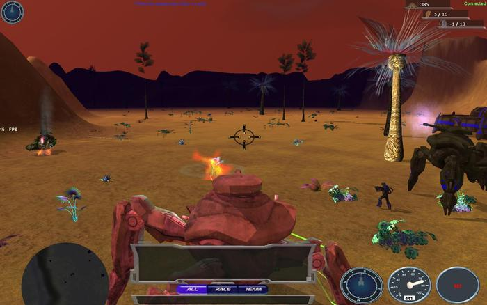 Control a Heavy Mech in First Person Shooter View