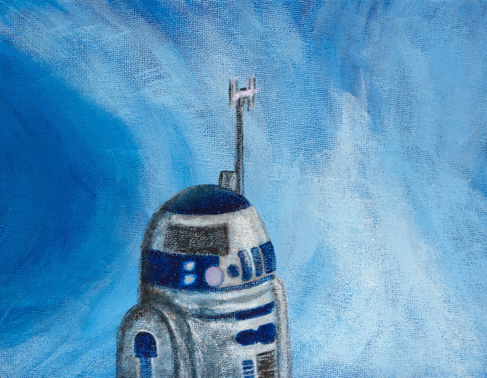 R2D2 on Hoth