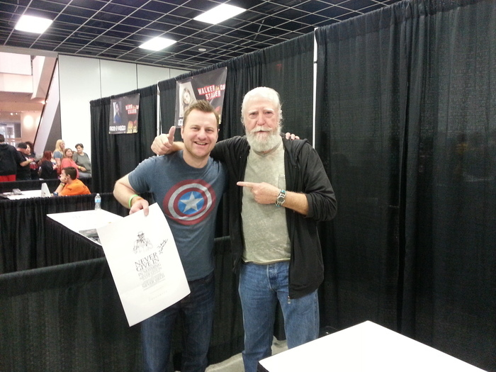 Scott Wilson (RIP Hershel, Walking Dead) loves History's Undead and so should you, or else!