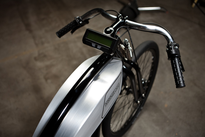 Adrian Van Anz' Derringer Board-track eBike via Kickstarter