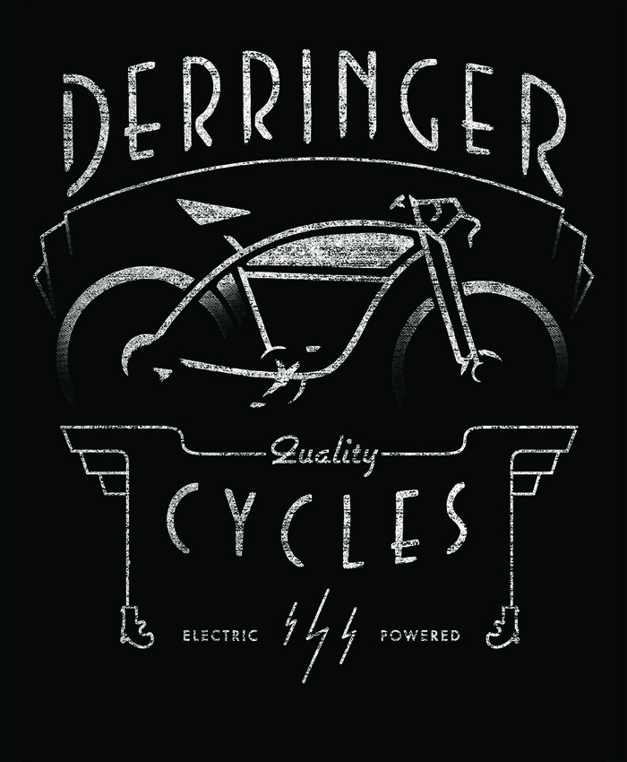 "$25 - Derringer Electric 18""x 24"" Poster"