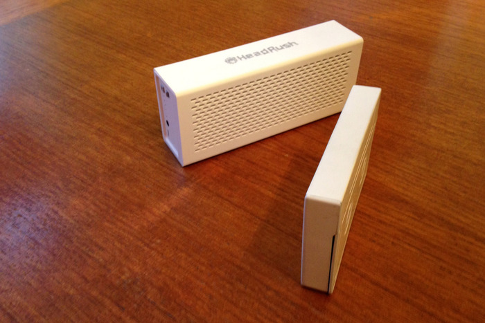 Headrush is a bulky 2 in 1 device with two bluetooth speakers with only a 1500 mAh battery pack charger