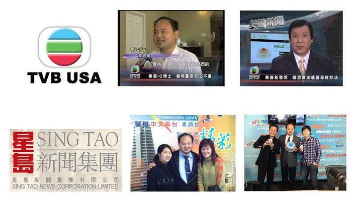 MOLO on TVB USA and Sing Tao Stations!