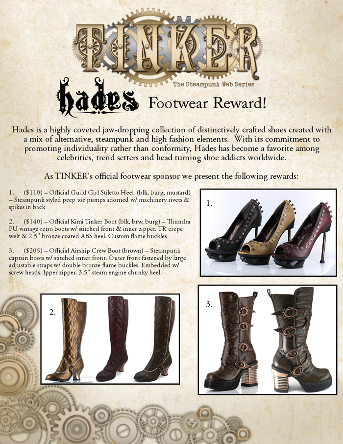 Hades Footwear Rewards!