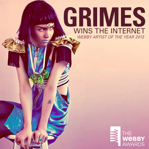 Grimes, electro music sensation, Tar Sands Reporting Project backer