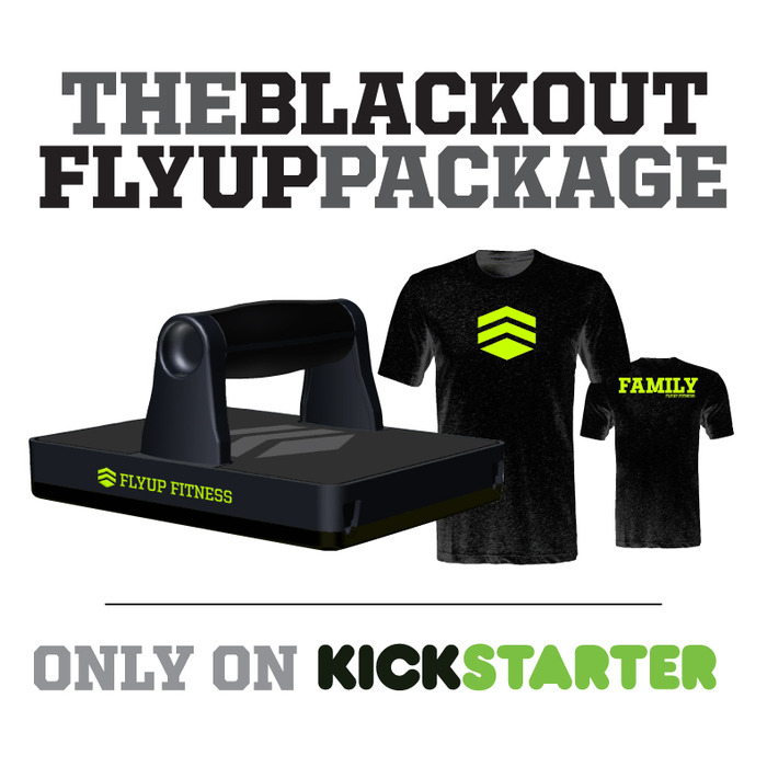 ALL-BLACK FLYUP AND T-SHIRT