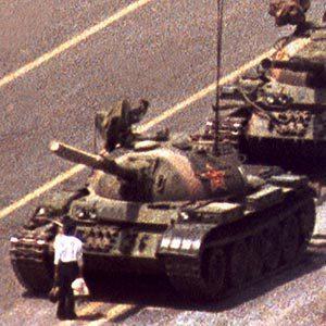 Tank Man - Tiananmen Square 1989