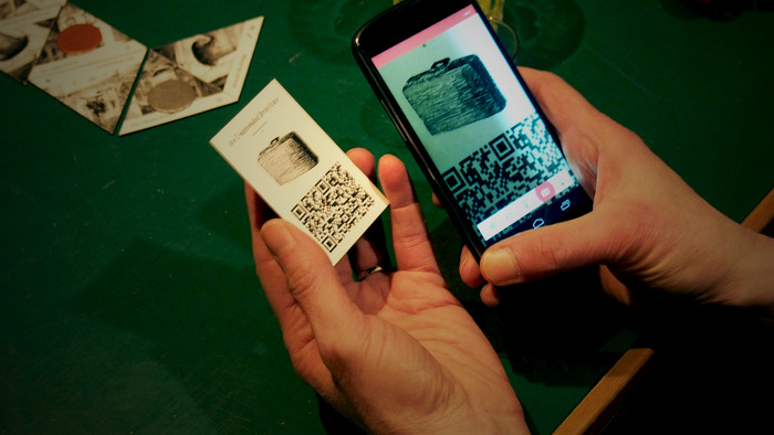 Scan a tech card to enable the functionality on your mobile device