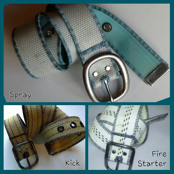 Exclusive Kickstarter only Belts