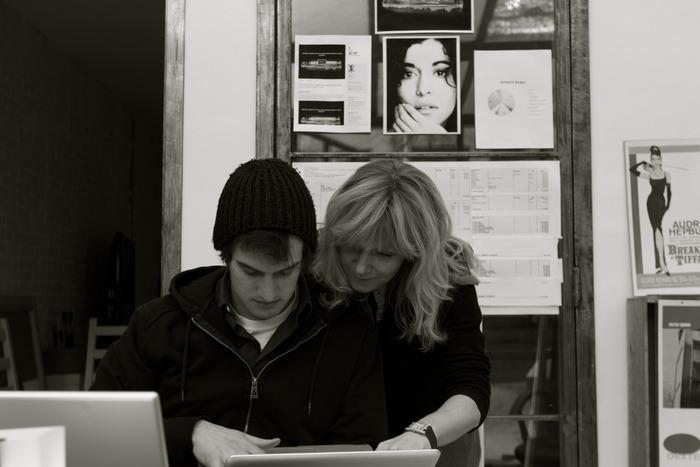Nastassja Many. Executive producer & Chris Spies PA